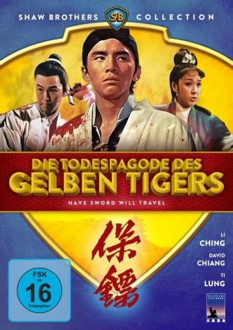 Shaw Brothers Collection 1 Koch Media Shaw Scope Die Todespagode Des Gelben Tigers Shaw Brothers Collection Dvd