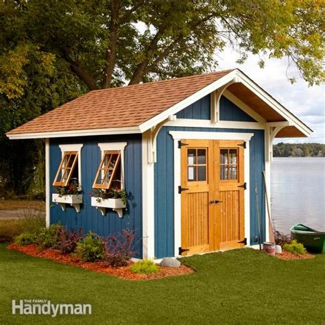 dream shed  easy  family handyman