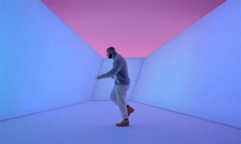 drake hotline bling watch drake dance through light and space in quot hotline