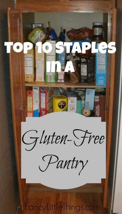 Gluten Free Pantry by Top 10 Staples In A Gluten Free Pantry