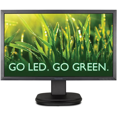Monitor Led Viewsonic 22 viewsonic vg2239m led 22 quot widescreen led vg2239m led b h