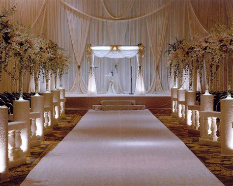 wedding ceremony decorations white hotel ceremony decor wedding ceremony