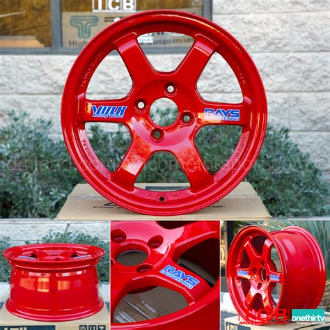Wheels Clear Merah rays volk racing te37 wheels 15x8 4x100 35 offset