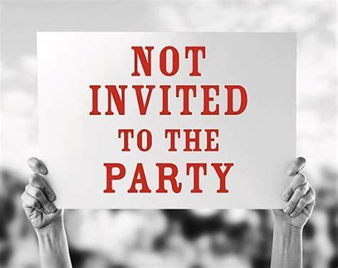 Not Invited To Wedding Hurt