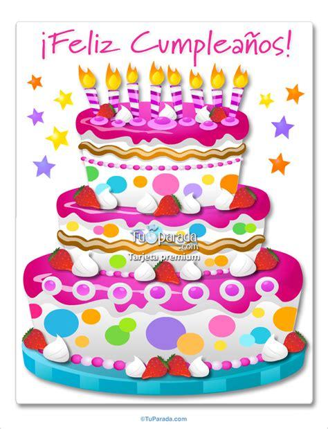 imagenes de cumpleaños tortas torta de cumplea 241 os im 225 genes de cumplea 241 os tarjetas