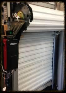 Garage Door Opener For Roll Up Door Roll Up Garage Doors