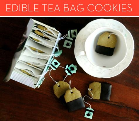 How Tea Bag Is Made by How To Make Edible Tea Bag Cookies 187 Curbly Diy Design