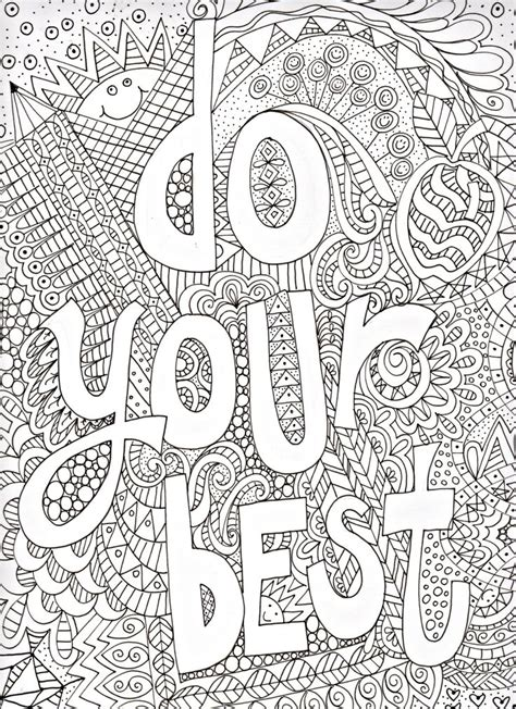coloring pages inspirational 170 best images about coloring inspirational words on