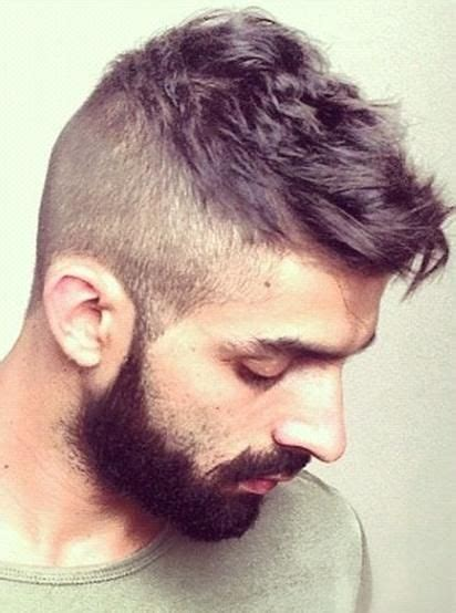 mens gq hair shaved sides men hairstyle with shaved sides man hair pinterest