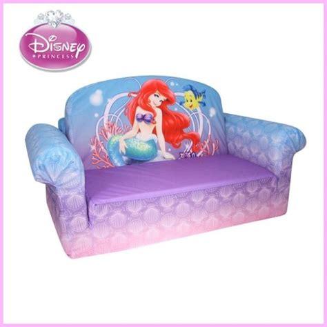 trolls flip open sofa disney disney princess mermaid flip open sofa ariel