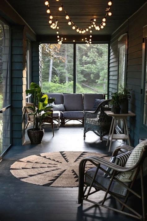 string lights for screened porch jersey co screened porch in the catskills
