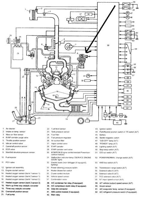 service manuals schematics 2002 suzuki xl 7 head up display where is the egr value located on the 2002 suzuki xl7 i
