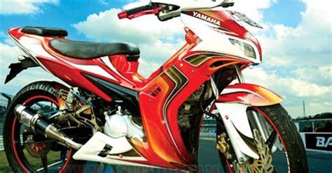 Handgrip Tdr Terbaru jupiter mx modif warna merah putih oto trendz