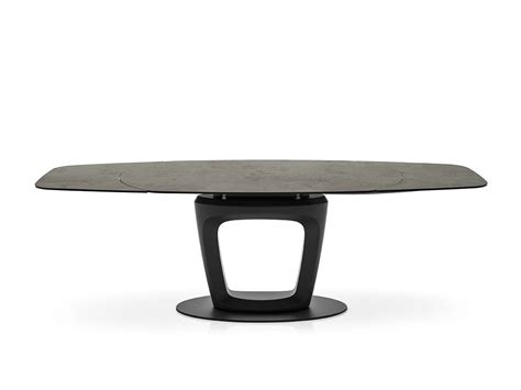 tavolo pininfarina orbital dining table by pininfarina for calligaris