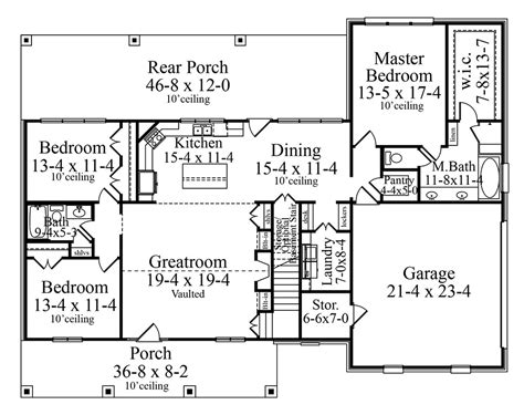 carson mansion floor plan carson 9787 3 bedrooms and 2 5 baths the house designers