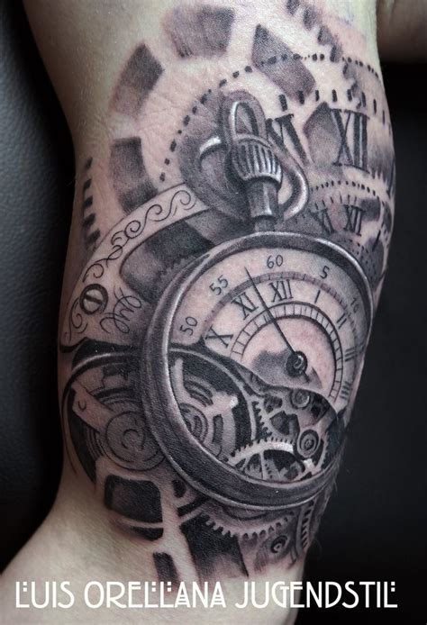 timepiece tattoos 25 best ideas about gear on clockwork