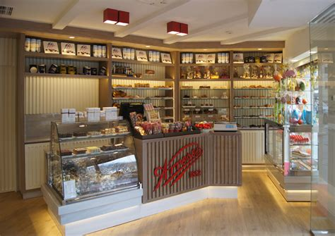 interiorismo comercial pasteleria arrese en bilbao