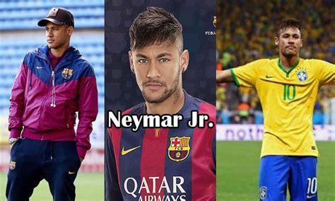 biography of brazilian footballer neymar neymar jr bio age height career personal life net