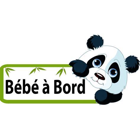 Sticker Panda baby on board car stickers bumper stickers baby on board