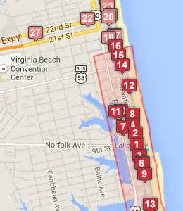 Virginia Beach Boardwalk Map by Alfa Img Showing Gt Map Of Virginia Beach Oceanfront