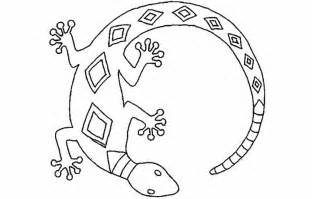 coloring lizard pages free printable kids peruclass