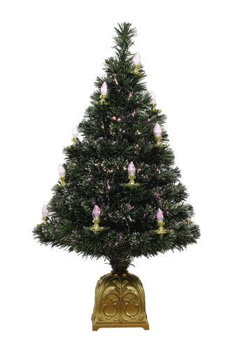 menards natural christmas trees 36 quot fiber optic tree with candles at menards 174