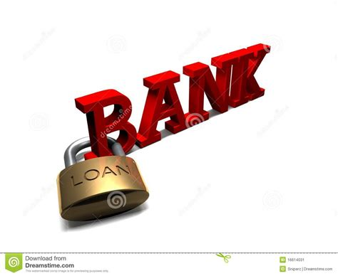bank loan bank loan stock image image 16614031