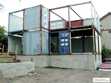 How To Make A House Out Of Construction Paper - shipping container underground shelter