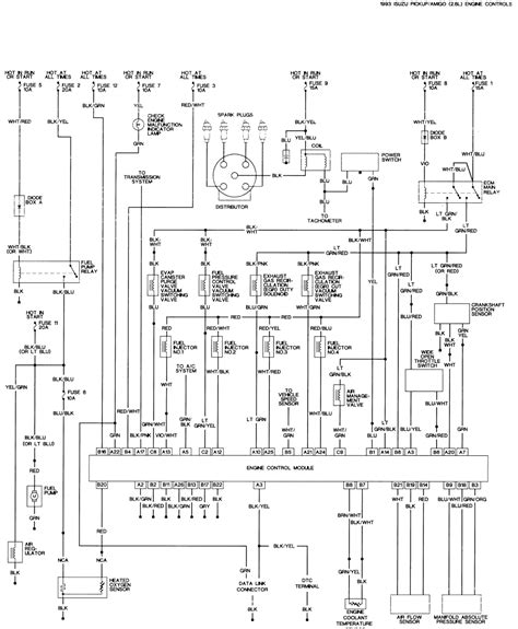 isuzu dmax electrical wiring diagram wiring diagram with