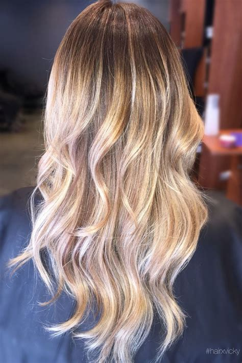 ombre hairstyles for hispanic women styledbyvicky ombr 233 balayage blonde hair styled by