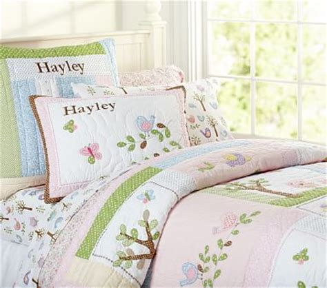 Hayley Nursery Bedding Set Hayley Quilted Bedding Pottery Barn
