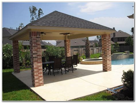 Detached Wood Patio Covers