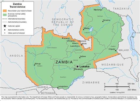 lusaka zambia map zambia maps