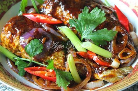 masak kicap ikan aji aji lebih mudah  awang azie