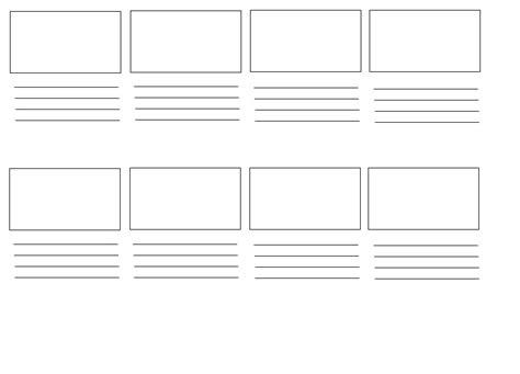 film video12 storyboard template