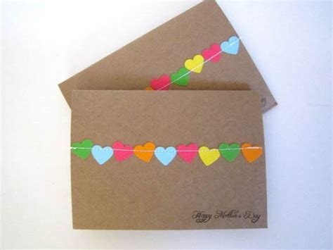 Ideas For Handmade Birthday Cards - handmade mothers day and birthday card ideas family