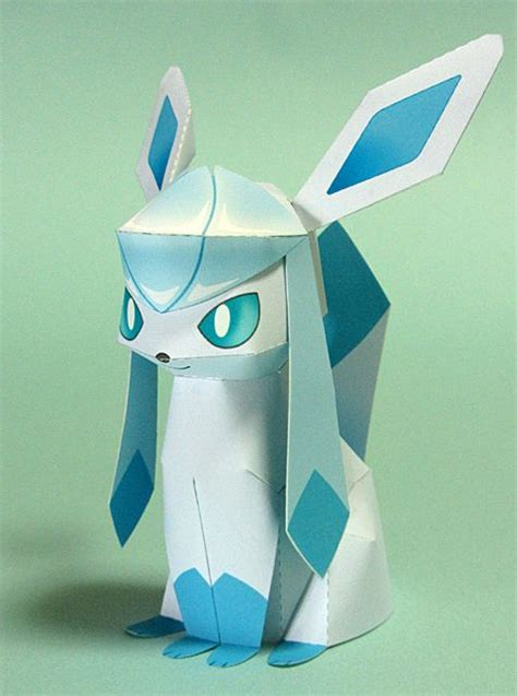 Glaceon Papercraft - papercraft glaceon images images