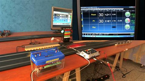 Flag Lights by Pc Lap Counter And Scalextric Digital C7042 And Pit Pro