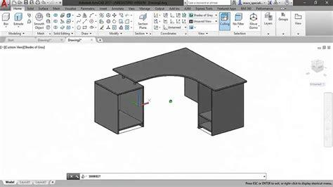 escritorio autocad escritorio en 3d autocad youtube