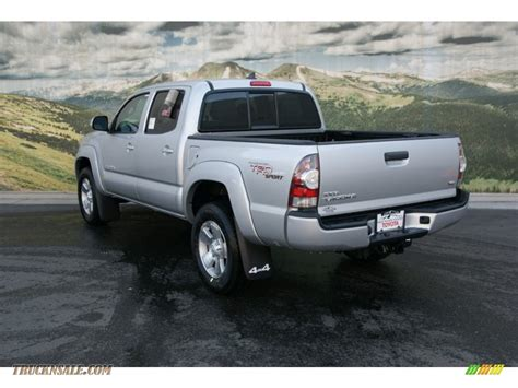 2013 Toyota Tacoma Trd Sport 2013 Toyota Tacoma V6 Trd Sport Cab 4x4 In Silver