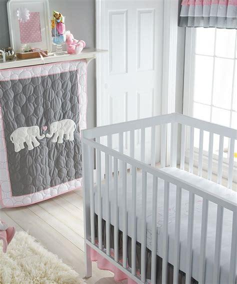 Pink And Gray Crib Bedding by Pink Gray Parade Crib Bedding Set Nursery