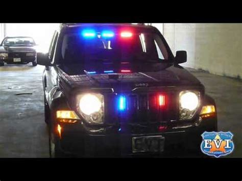 undercover police jeep undercover 2010 jeep liberty evi built youtube