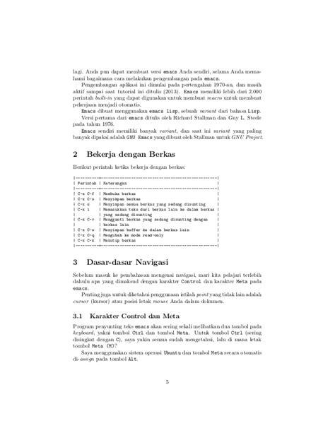 tutorial array c bahasa indonesia tutorial emacs bahasa indonesia by sopier