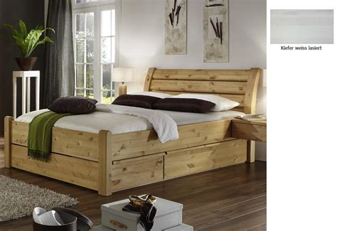 Hohes Bett 180x200 by Bett Massivholz Wei 223 160x200 Mit Bettkasten Kreative