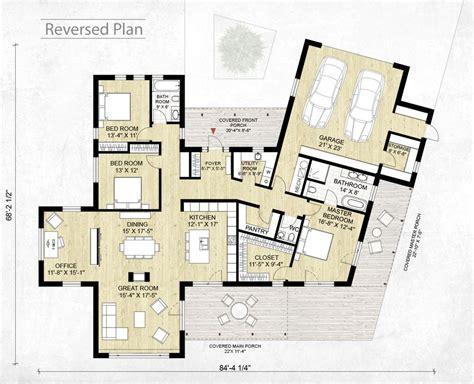 Plan Maison 4 Chambres Etage 3943 by Modern Style House Plan 3 Beds 2 5 Baths 2116 Sq Ft Plan