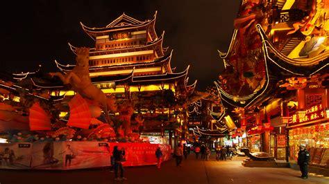 new year 2018 shanghai city god temple of shanghai temple in shanghai