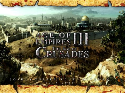 Of The Age 3 the age of crusades f 252 r age of empires 3