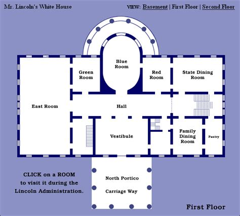 white house layout residence abraham lincoln s white house 1861 abraham lincoln s
