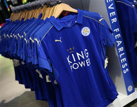 Leicester City Home 15 leicester city home kit 2016 17 premier league 2016 17