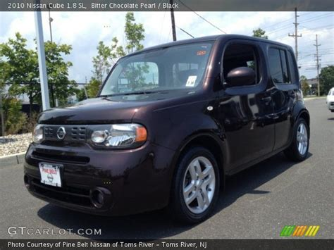 nissan cube back bitter chocolate pearl 2010 nissan cube 1 8 sl black